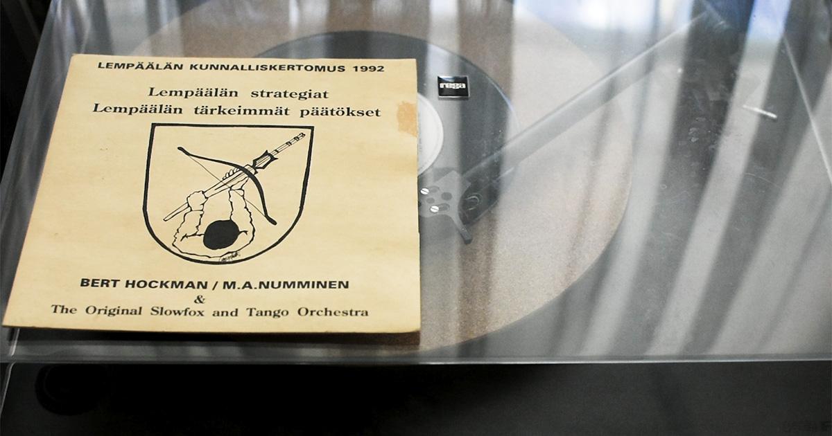 Kuva M.A. Nummisen Lempäälä-EP:stä